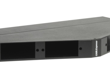 Skinny-Trunk Solution: Angled Patch Panels