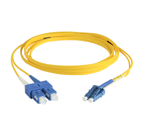 Singlemode LC/SC Fiber Optic Cable with Clips