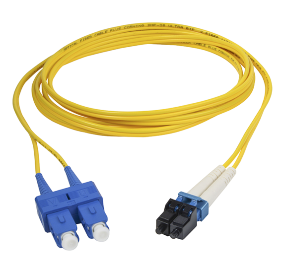 Skinny Trunk Series Singlemode LC/SC Fiber Patch Cable
